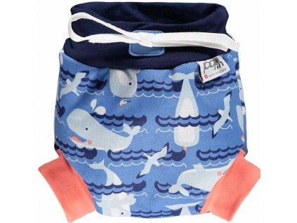 50118634 Close Pop in Swim Nappy Whale