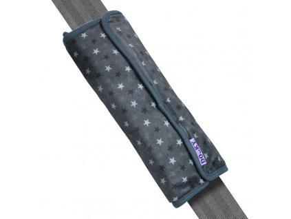 Dooky chránič pásu Seatbelt Pillow Grey Stars