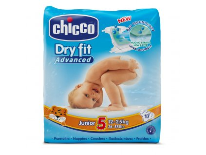 Chicco Plienky Chicco Junior 12-25kg 17ks 07174.00