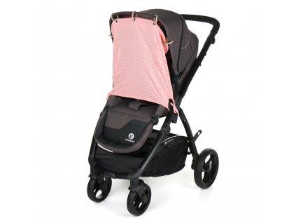 Gmini Clona slnečná do kočíka rúžová potlač UNI G9071-UNI