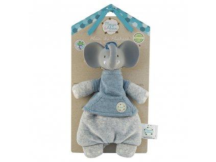 MeiyaAlvin maznacik slonik hryzatko backer card