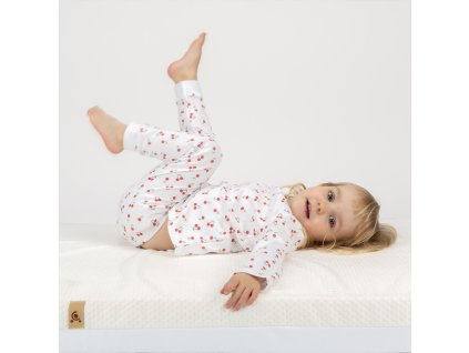 CUDDLECO Pěnová matrace Lullaby 120 x 60 cm CUD051170/Cream