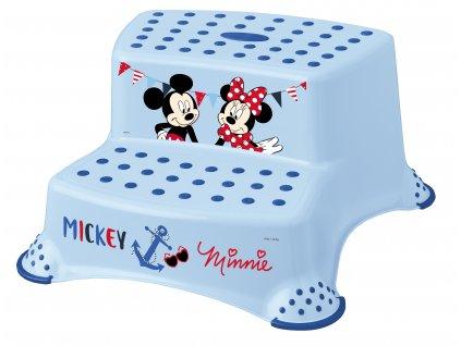 """KEEEPER Dvojstupínek k WC/umyvadlu """"Mickey&Minnie"""" KEE041950/Růžová"""