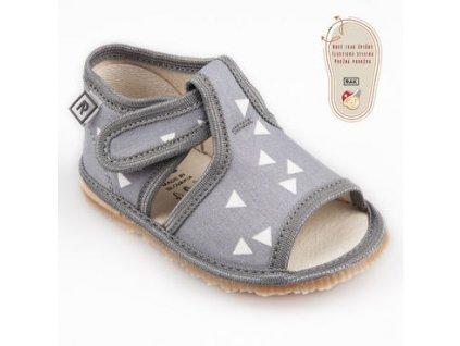 papuce sedy trojuholnik rak barefoot