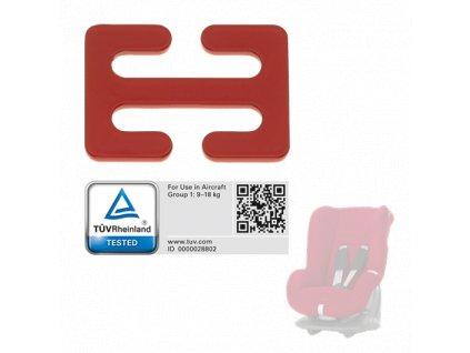 RÖMER Sada pro použití v letadlech k autosedačce Eclipse BRR022308/