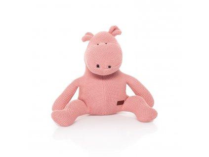 ZOPA Pletená hračka Hroch ZOP033011/Pink