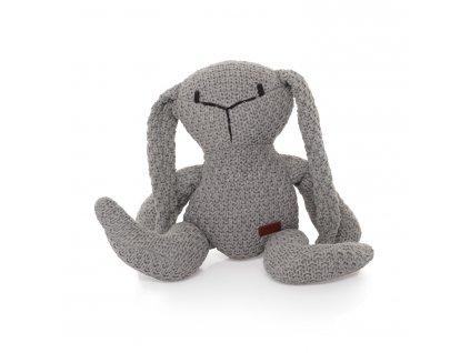 ZOPA Pletená hračka Zajíc ZOP033012/Grey
