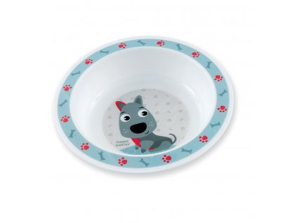 Canpol babies Plastová miska Cute Animals 270 ml 4m+ Mačička