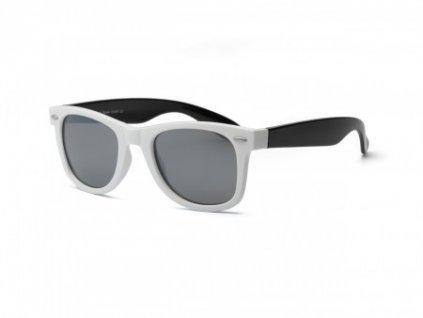 Real Kids Slnečné okuliare Swag 10r+ Bielo čierne
