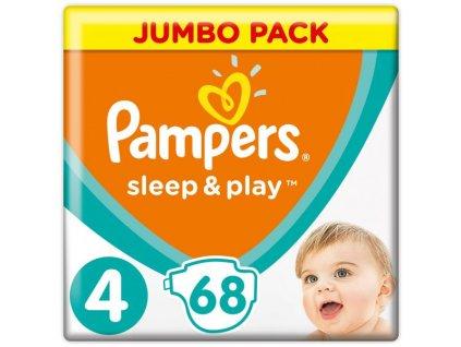 Pampers Plienky Sleep&Play Jumbo Pack 5 JUNIOR 9-14kg 68ks Pampers 203551