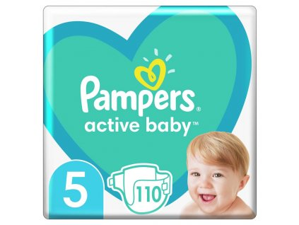 Pampers Plienky Active Baby 5 JUNIOR 11-16kg 110ks Pampers 951779