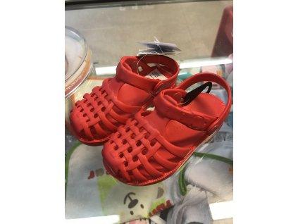 Playshoes Sandálky do vody - červené