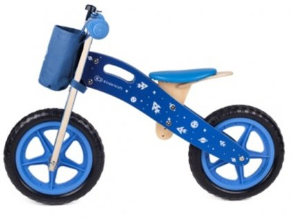 Kinderkraft Odrážadlo Runner Galaxy Blue s doplnkami Kinderkraft 2019 KKRRUNGBLU00AC