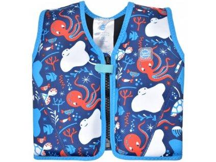 Splash About plavecká vesta Go Splash Morský svet