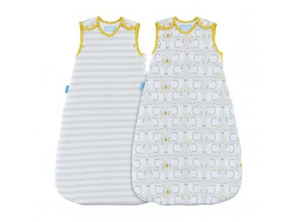 Gro Vak spací Elephant Love - Wash and Wear - Twin pack 1 Tog 0-6m AAA5944