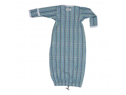 LODGER Spací vak Hopper Newborn Stripe Xandu Dusty Turquoise 1