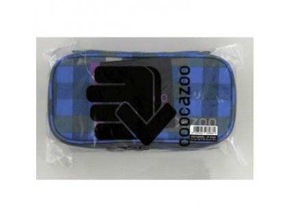 Peračník COOCAZOO PencilDenzel, Hip To Be Square Blue