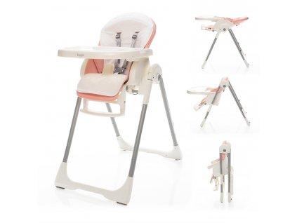 ZOPA Dětská židlička Ivolia ZOP055710/Candy Pink