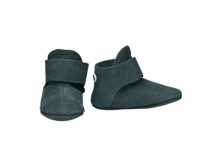 LODGER Capačky Walker Leather Basic Sage