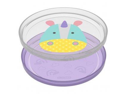 Skip Hop Zoo tanierik protišmykový 2v1 - Jednorožec 6m+ 252240