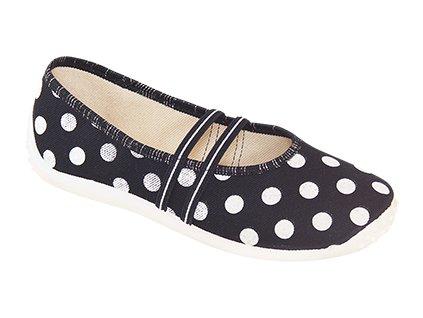 ZETPOL sandálky/papučky - s bodkami