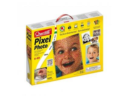 Quercetti Pixel Photo 4 portrét z kolíčkov