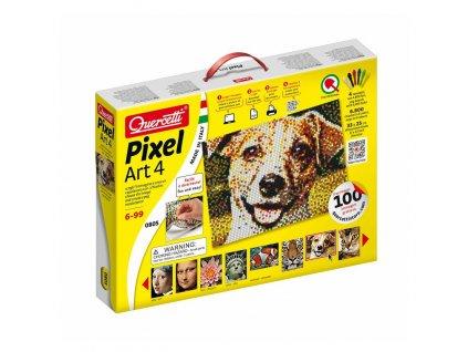 Quercetti Pixel Art 4 obrázok z kolíčkov