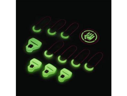 CoocaZoo MatchPatch Special doplnkový set, Glow Pink