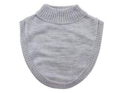 Nordic Label pletený vlnený nákrčník Svetlosivý