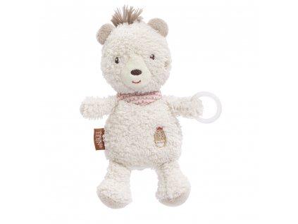 BABY FEHN Hračka na dudlík medvěd BFE054520/Peru