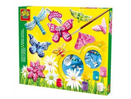 SES Výroba brošní - motýľ