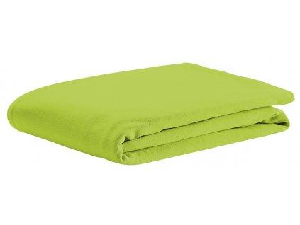 ODENWÄLDER Prestieradlo UNI bavlna lime zelená1