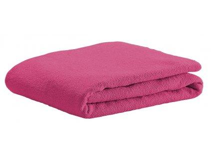 ODENWÄLDER Prestieradlo froté 40x90 soft pink