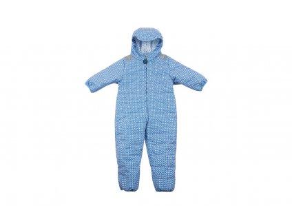 Ducksday Kombinéza detská zimná Funky blue 92 SNOWBATOFB92