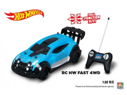HOT WHEELS - RC  Fast 4wd