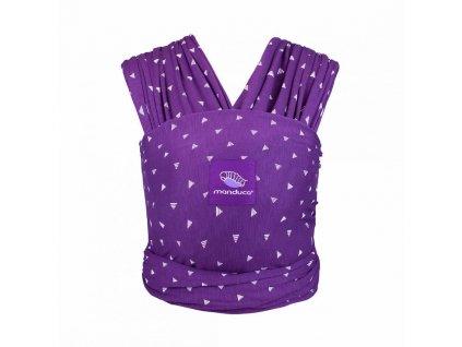 Manduca sling šatka na nosenie sling Purple Darts