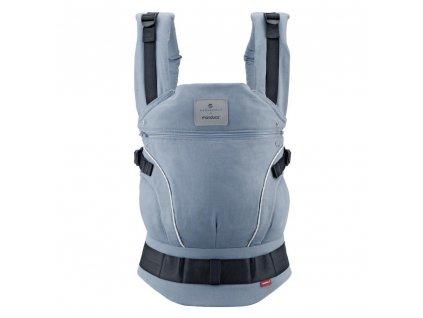 Manduca Ergonomický nosič belly button First SoftCheck blue