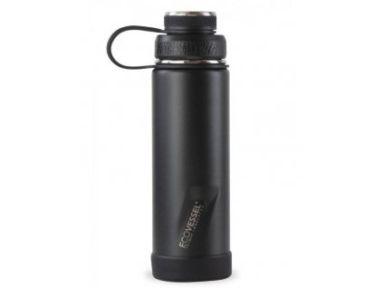 ECO VESSEL Nerezová termofľaša Boulder 600ml BLACK SHADOW