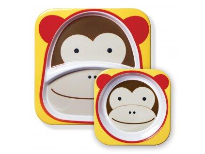 Skip Hop Zoo Jedálenský set - Opička 6m+ SH2522.02