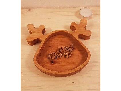 klikwood drevená miska sobík 12