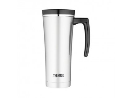 THERMOS® Vodotesný termohrnček s držadlom Strieborná