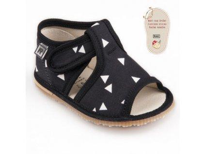 papuce cierny trojuholnik 1354.thumb 409x369
