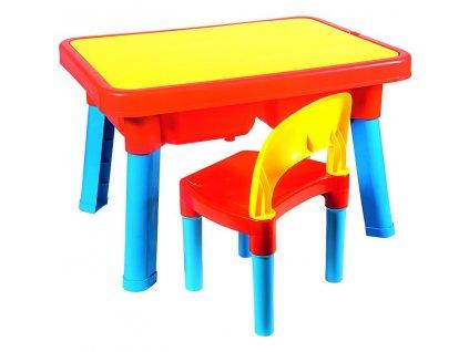 Androni Multifunkčný stolík so sedadlom