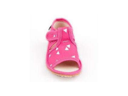 Rak ohybné papuče - ružový trojuholník