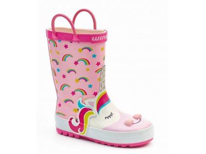 wink gumaky unicorn pink