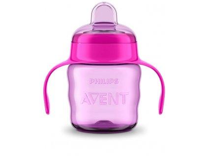 Philips AVENT Avent hrnček pre prvé dúšky Klasik 200 ml s držadlami dievča