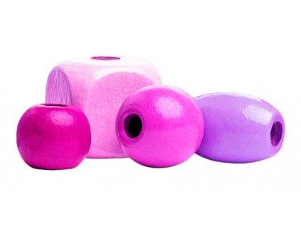 Woody Korálky v tube - ružové