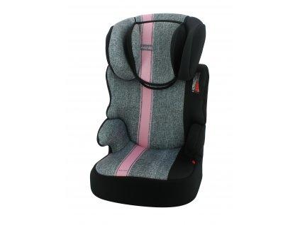 Nania Autosedačka Befix First Linea Grey Pink 15-36kg AGS_792543