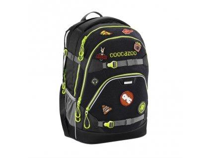 Školský ruksak coocazoo ScaleRale, Black, certifikát AGR