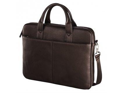"""Santorin Life"" Notebook Bag, up to 40 cm (15.6""), brown"